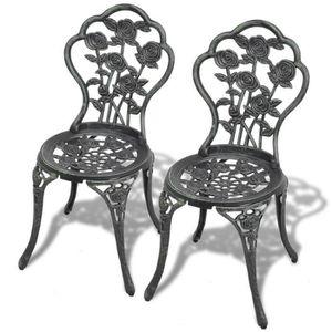 Chaise De Bistrot Aluminium