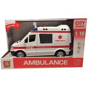 VOITURE - CAMION Wdk Partner :Ambulance Miniature Sons et Lumières