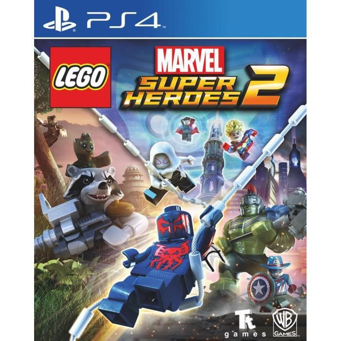 Lego Marvel Super HerŒs 2 Jeu PS4