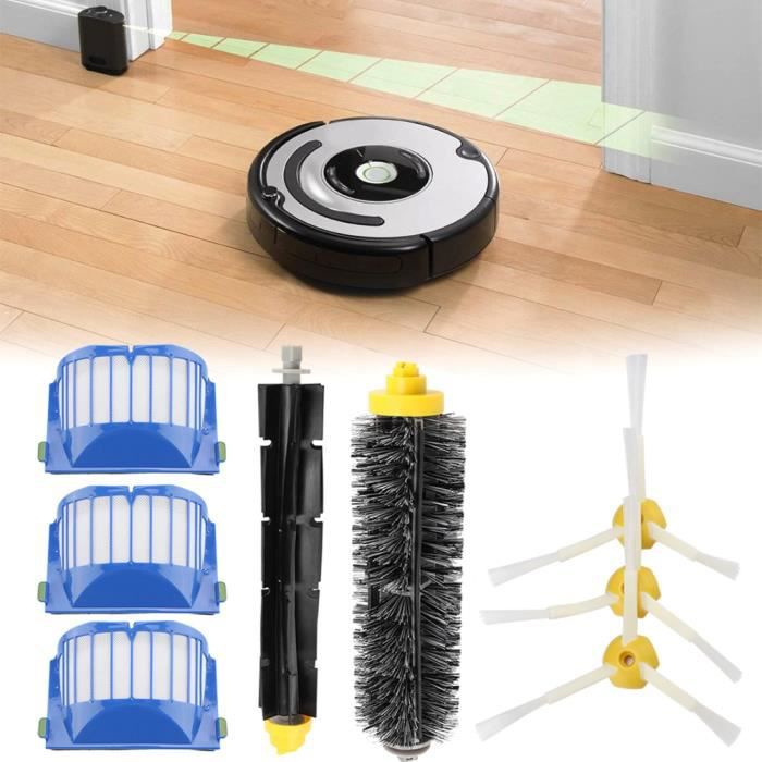 Kit d'accessoires de remplacement pour IROBOT Roomba série 600_BOB