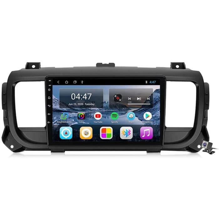 Buladala An oid 10 9 Pouces Stereo Multimedia GPS Navigation pour Citroen Jumpy 3 SpaceTourer 2016-2021 avec FM RDS Autoradio, S798