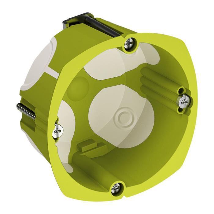 Boîte d'encastrement 1 poste Multifix Air Ø67 Prof. 40mm
