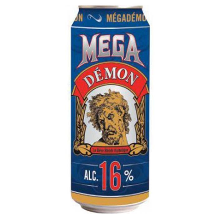 Mega Demon Blonde 50cl (pack de 12 canettes)