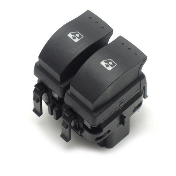 Bouton Lève-Vitre Interrupteur Commande Contrôle de fenêtre électrique pour Renault Clio II 2 8200 060 045 Meg49945