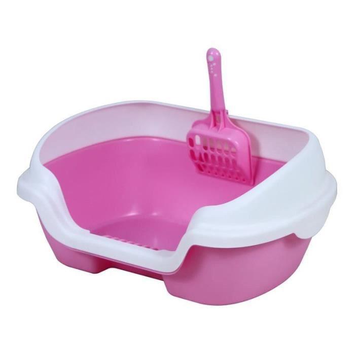 Maison de Toilette,Bac à litière auto nettoyante,Animal domestique,chat,formation du lit,des toilettes,des - Type 4-40x30x18CM
