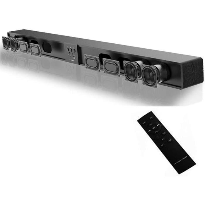LAHappy Barre De Son TV Soundbar Bluetooth 4.0, 5.1Canal,Barre De Son sans Fil, Barre De Son D&eacutetachable Et S&eacuteparab91