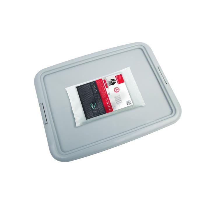 M-PETS - Kit propreté - Gris - 45 x 60 cm - Pour chien