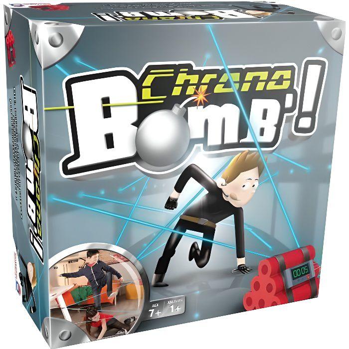 CHRONO BOMB - 41299- Un jeu plein de suspense!