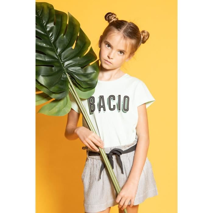 DEELUXE T-shirt imprimé BACIO BACIO Light Mint