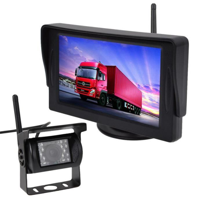 1 Pc voiture caméra de recul professionnel 2.4G sans fil de système de de pour véhicule moteur RADAR DE RECUL - CAMERA DE RECUL