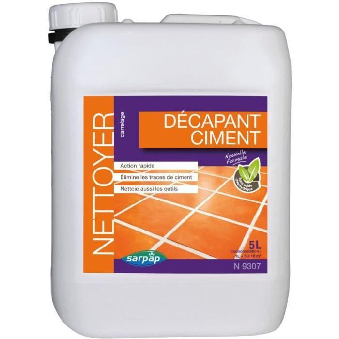 Nettoyant décapant ciment - 5 L