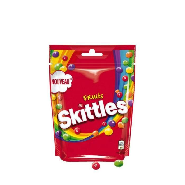 SKITTLES Bonbons aromatisés aux fruits - 174 g