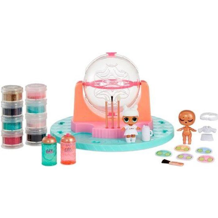 SPLASH TOYS- L.O.L. Surprise! DIY Glitter Factory, Personnalise toutes tes poupées LOL Surprise avec paillettes ou la fourrure!