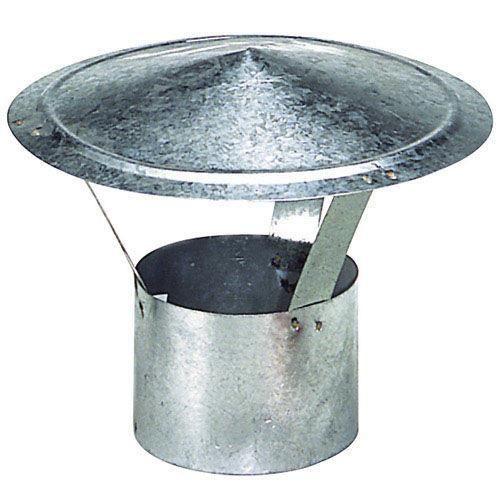 Chapeau galvanisé pour poêle de 150 m