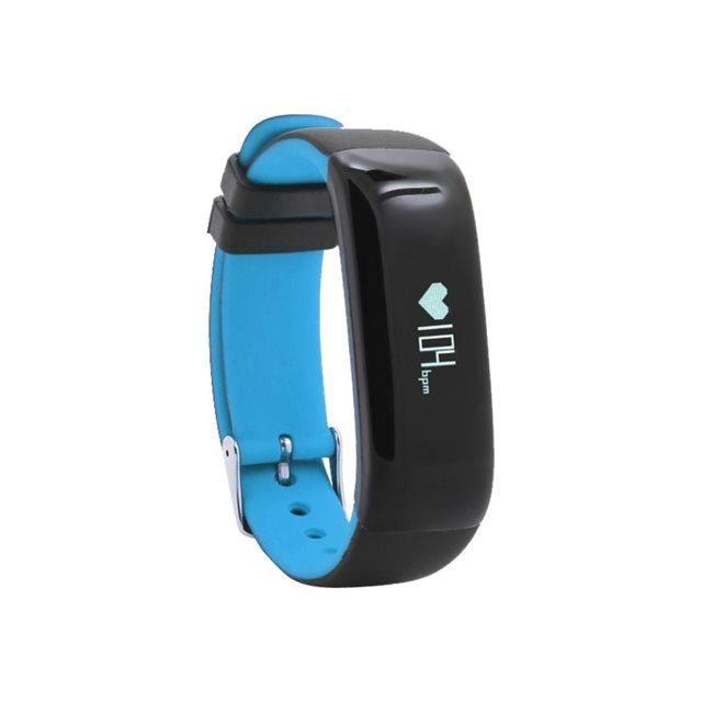 WEE'PLUG Bracelet sport connecté Bluetooth SB18 - Bleu