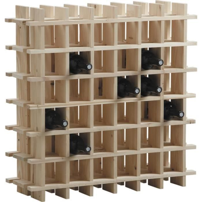 etag re vin en bois rangement 36 bouteilles achat. Black Bedroom Furniture Sets. Home Design Ideas