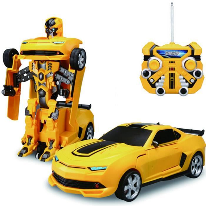 voiture transformers radiocommand e camaro bumblebee achat vente voiture enfant cdiscount. Black Bedroom Furniture Sets. Home Design Ideas