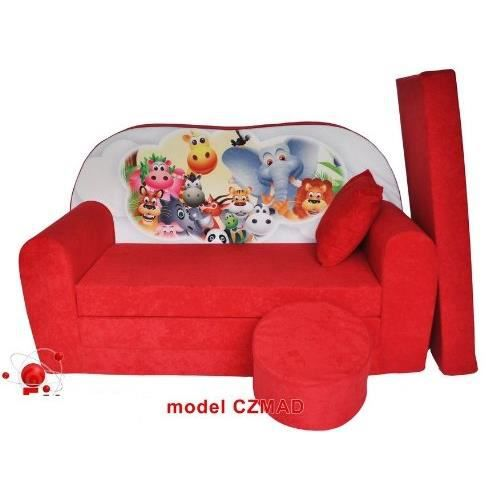 Sofa enfant 2 places se transforme en un canap lit for Canape lit but 2 places