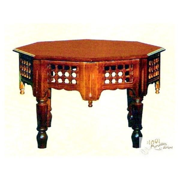 Grande Table Centrale Marocaine Moucharabieh de… - Achat ...