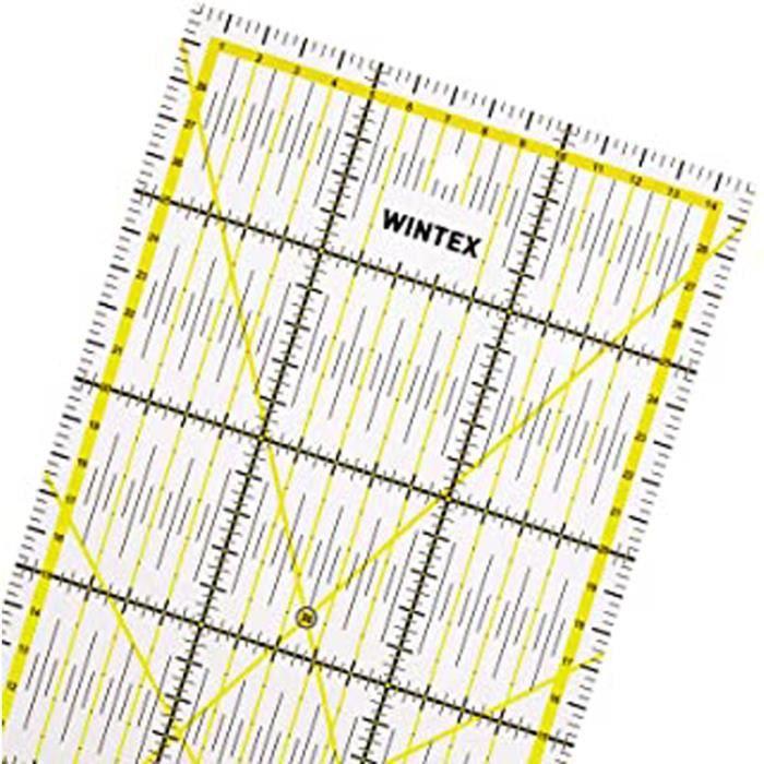 3Pcs plastique Règle 15 cm 6 in jaune outil de mesure pour bureau environ 15.24 cm