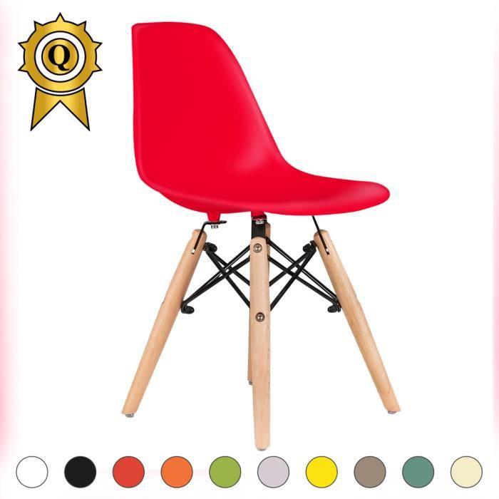 Enfants Coque d/'Assise Rouge Gris