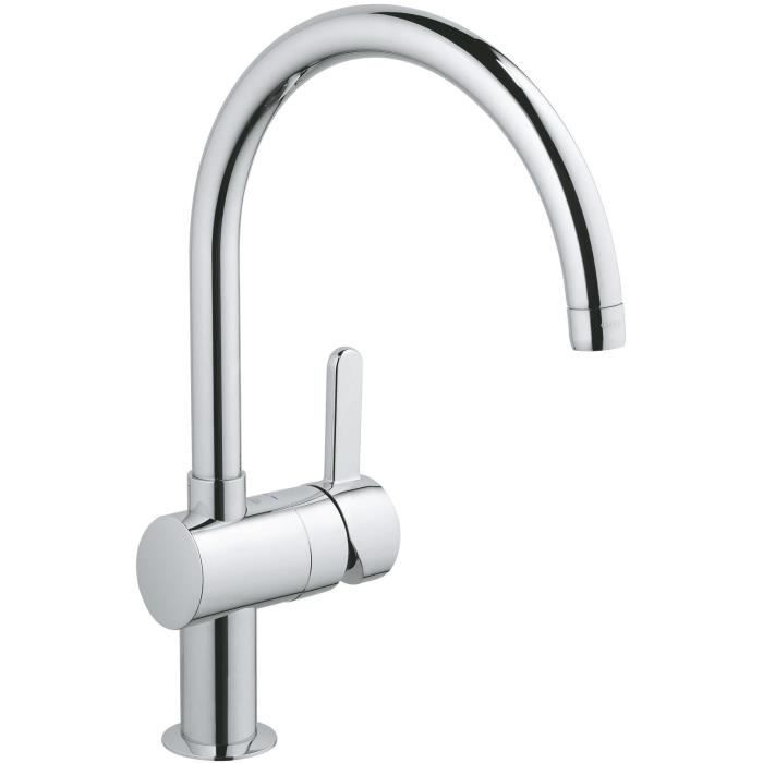 Grohe flair mitigeur vier 32452000 import allemagne for Grohe evier cuisine