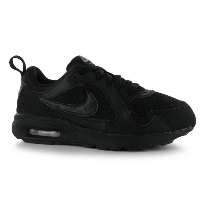 baskets nike air max noires enfants noir noir achat vente basket cdiscount. Black Bedroom Furniture Sets. Home Design Ideas