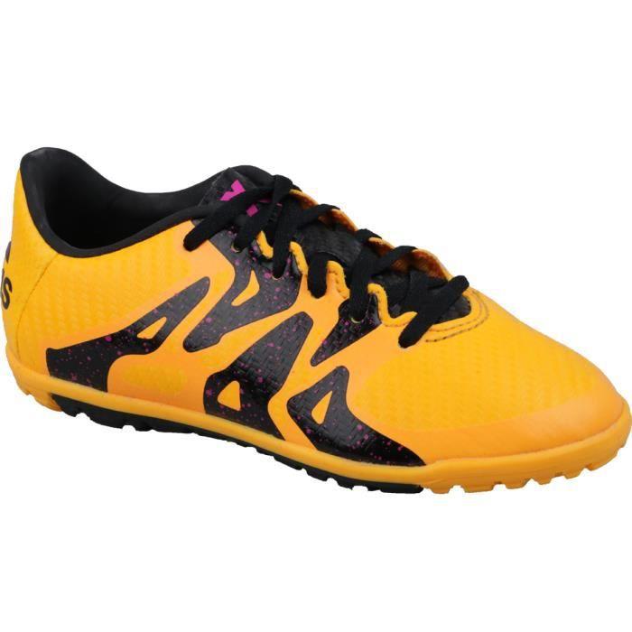 Adidas X 15.3 TF J S74663 chaussures de foot pour terrain synthétique pour enfant Jaune