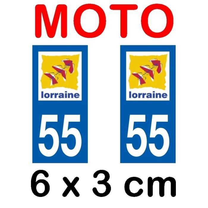 1 Sticker pour Plaque dimmatriculation Moto Stickers Garanti 5 Ans Nos Stickers sont recouvert dun pelliculage de Protection sp/écifique Ducati Noir