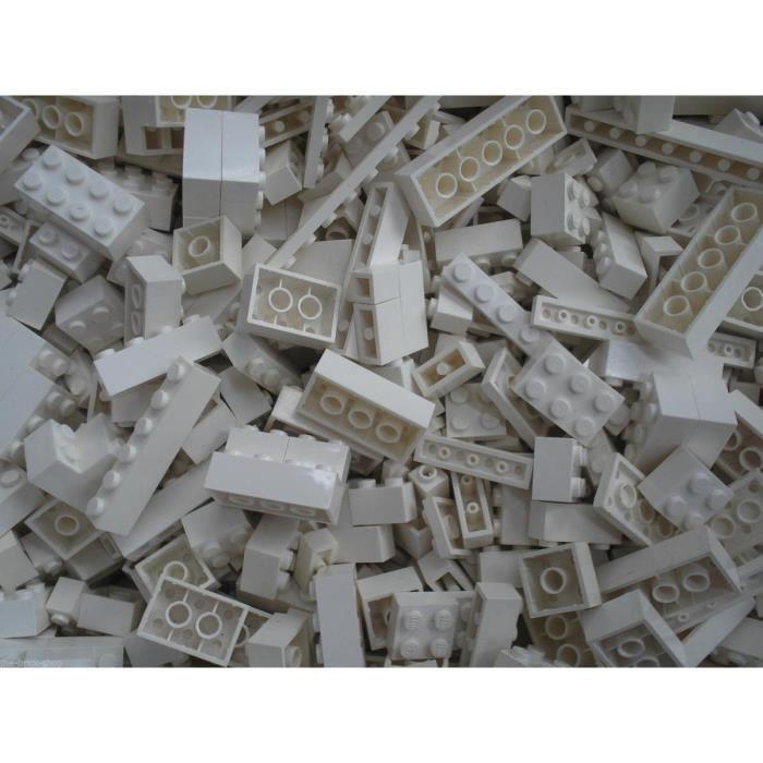 Briques En Vrac Qbricks Compatible Lego Blanc 500 Grammes Achat Vente Assemblage Construction Cdiscount