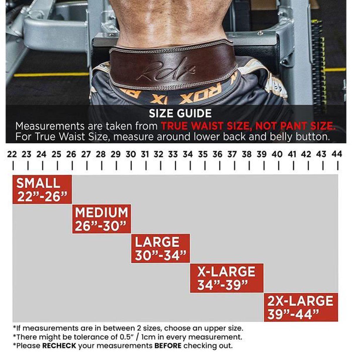 Power Haltérophilie Ceinture Support Dos Sangle Gym Entraînement Fitness Taille Rouge