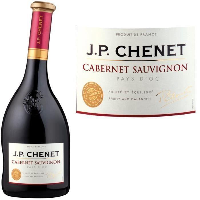 JP Chenet Cabernet Sauvignon - Vin rouge du Languedoc-Roussillon