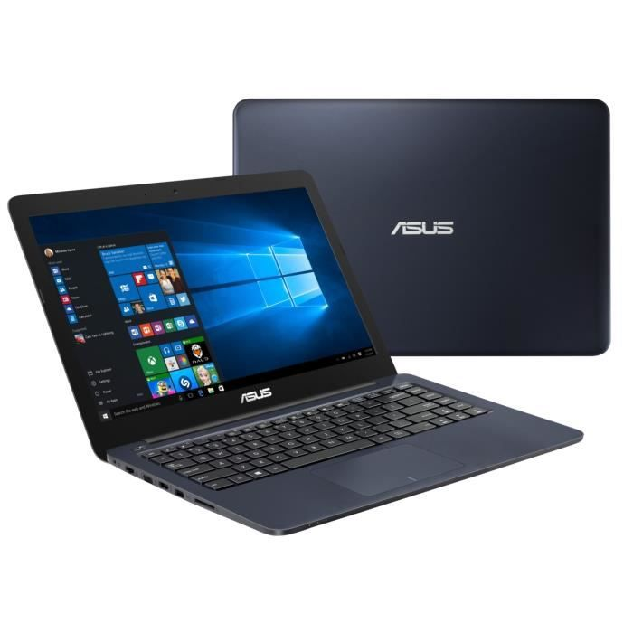 PC portable Asus E402NA-GA029T 14 pouces - Intel Celeron - 4 GoRAM - Disque Dur 32Go - Windows 10 S (Migration gratuite Windows Pro)