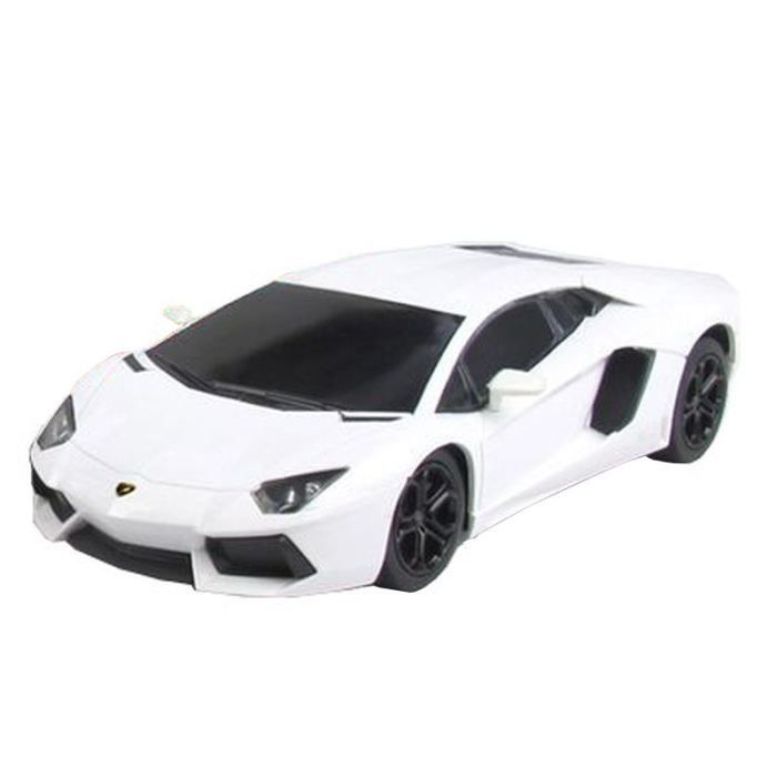 lamborghini aventador voiture telecommand e blanc achat vente voiture construire cdiscount. Black Bedroom Furniture Sets. Home Design Ideas