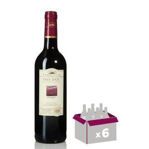 VIN ROUGE Pinot noir 2015 Vin de pays d'Oc - Rouge - 75cl -