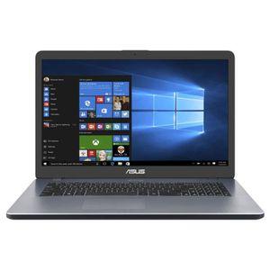 Achat discount PC Portable  Ordinateur portable ASUS R702QA-BX029T - 17'' HD+ - AMD A10-9620P - RAM 8Go - Stockage 1To + 128Go SSD - Windows 10