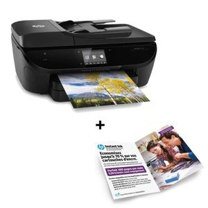Imprimante HP Envy 7640 + Forfait Instant Ink 300 pages