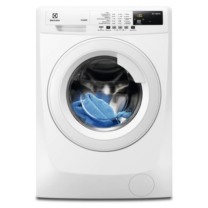ELECTROLUX EWF1482BC - Lave-linge frontal - 8kg - 1400 tours - A+++