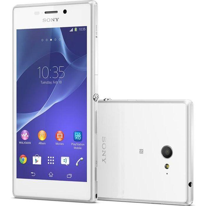 Sony Xperia M2 4G Blanc