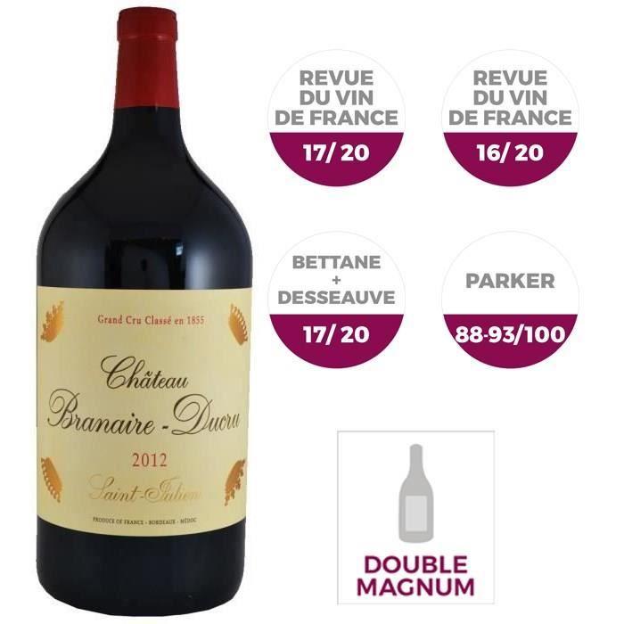Double Magnum Château Branaire Ducru 2012 Saint-Julien - Vin rouge de Bordeaux