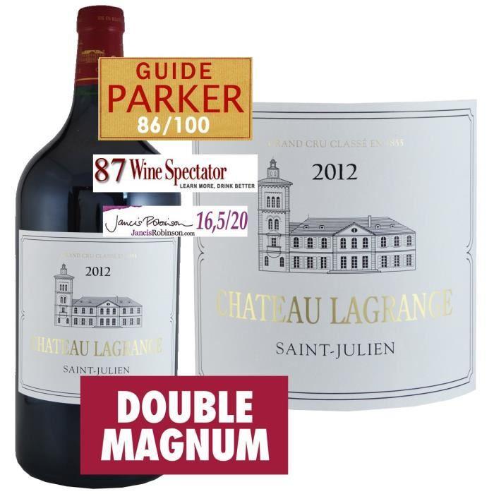 Double Magnum Château Lagrange 2012 Saint Julien - Vin rouge de Bordeaux