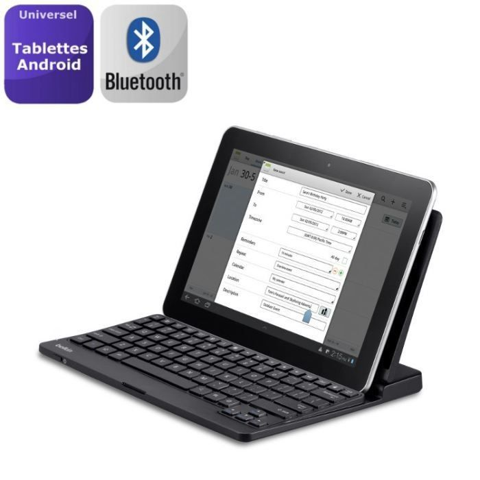 Belkin clavier Bluetooth + stand intégré Android