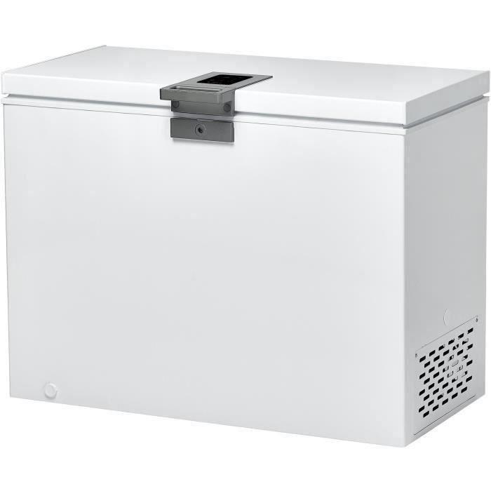 CANDY CMCH252 - Congélateur coffre - 255L - Froid statique - A+ - L111 x H84,5 cm - Blanc