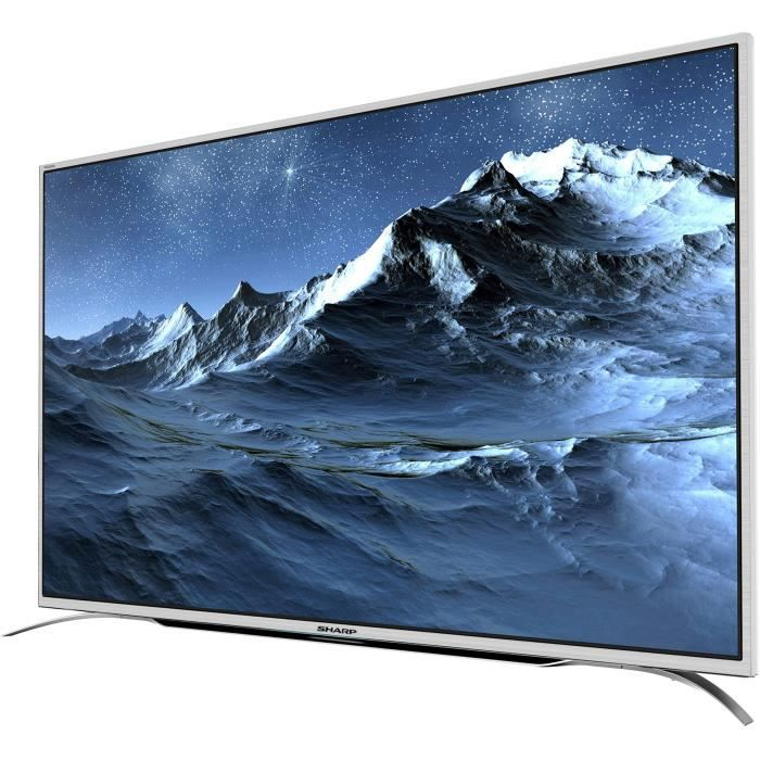 Sharp lc 49cuf8372es tv led 4k uhd 123 cm 49 smart tv 3x hdmi son harman kardon classe énergétique a