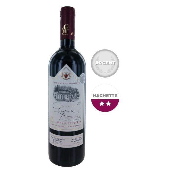 Château Lesparre 2012 Graves de Vayres Grand Vin de Bordeaux Rouge