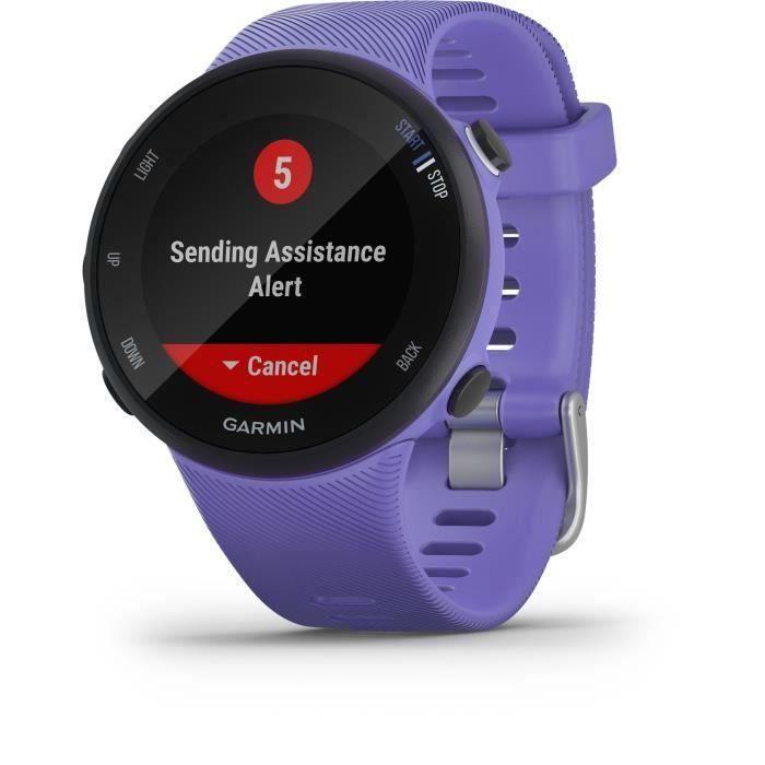 Garmin Forerunner® 45 - Montre de course GPS connectée - Small - Violette