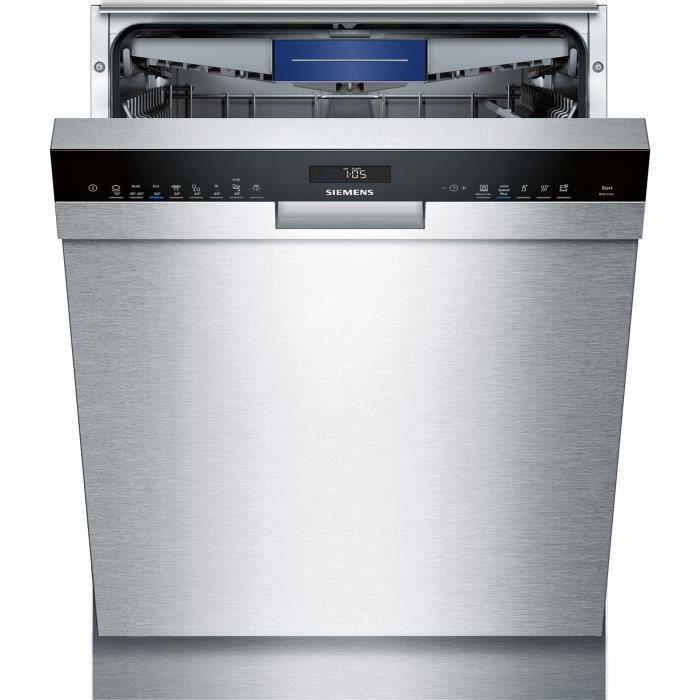 Lave-vaisselle encastrable SIEMENS SN458S02ME - 14 couverts - Moteur induction - Largeur 60 cm - Classe A++ - 42 dB