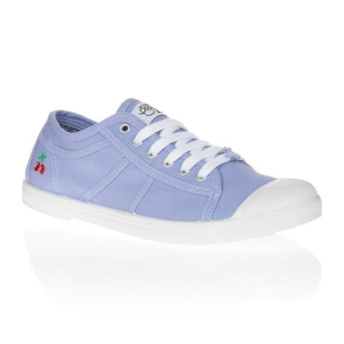 LE TEMPS DES CERISES Chaussures Basic 02 Plum Violet/Blanc Femme