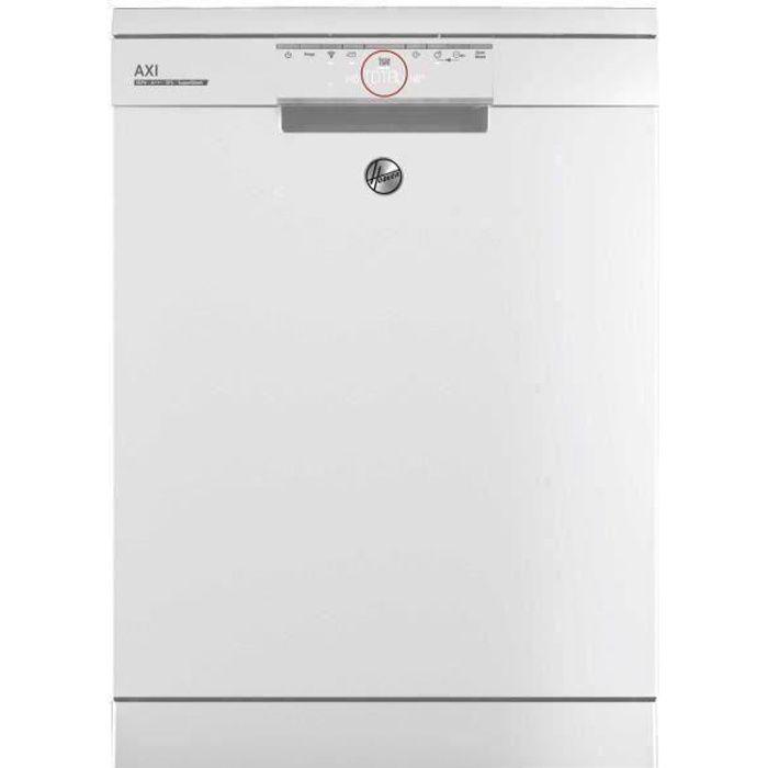 Lave-vaisselle encastrable connecté HOOVER HDPN4S622PW - 16 couverts - Largeur 60 cm - Classe A+++ - 43 dB - Bandeau blanc