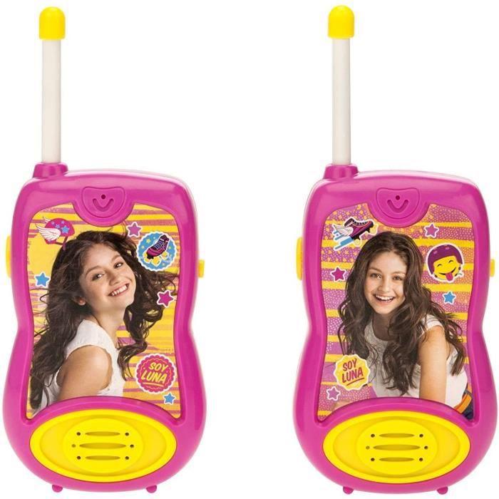 SOY LUNA Talkies-walkies enfant 100 mètres de portée LEXIBOOK